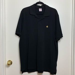 Brooks Brothers Performance Polo Original Fit Blk